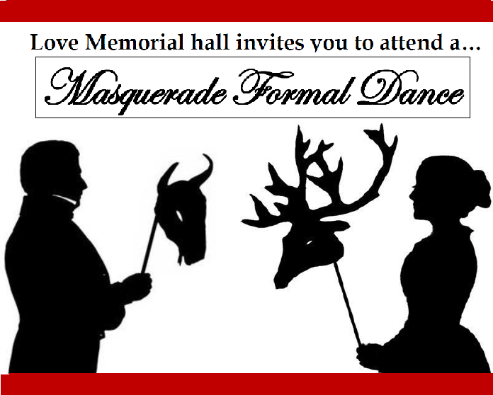 Love Memorial Hall Formal Dance