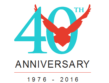 VIsion Maker Media 40th Anniversary Logo