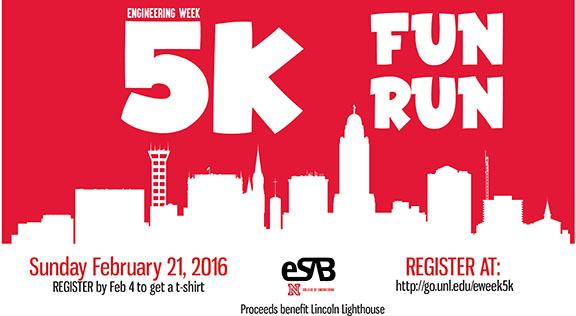 E-Week Fun Run set for Feb. 21.