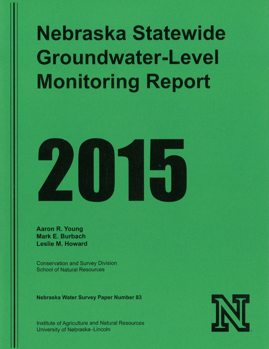 Report reveals rises in groundwater levels following multiple years of decline