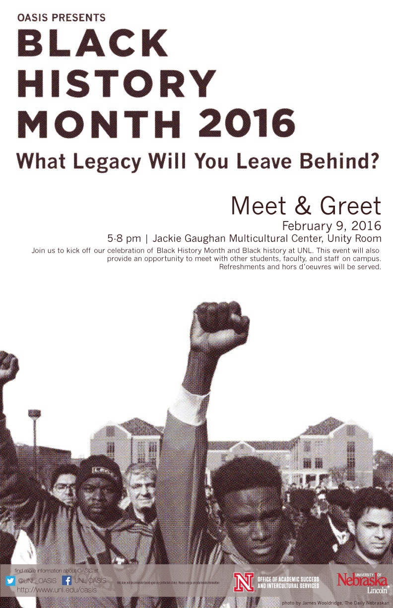OASIS Black History Month: Meet & Greet