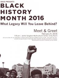 OASIS Black History Month: Meet & Greet