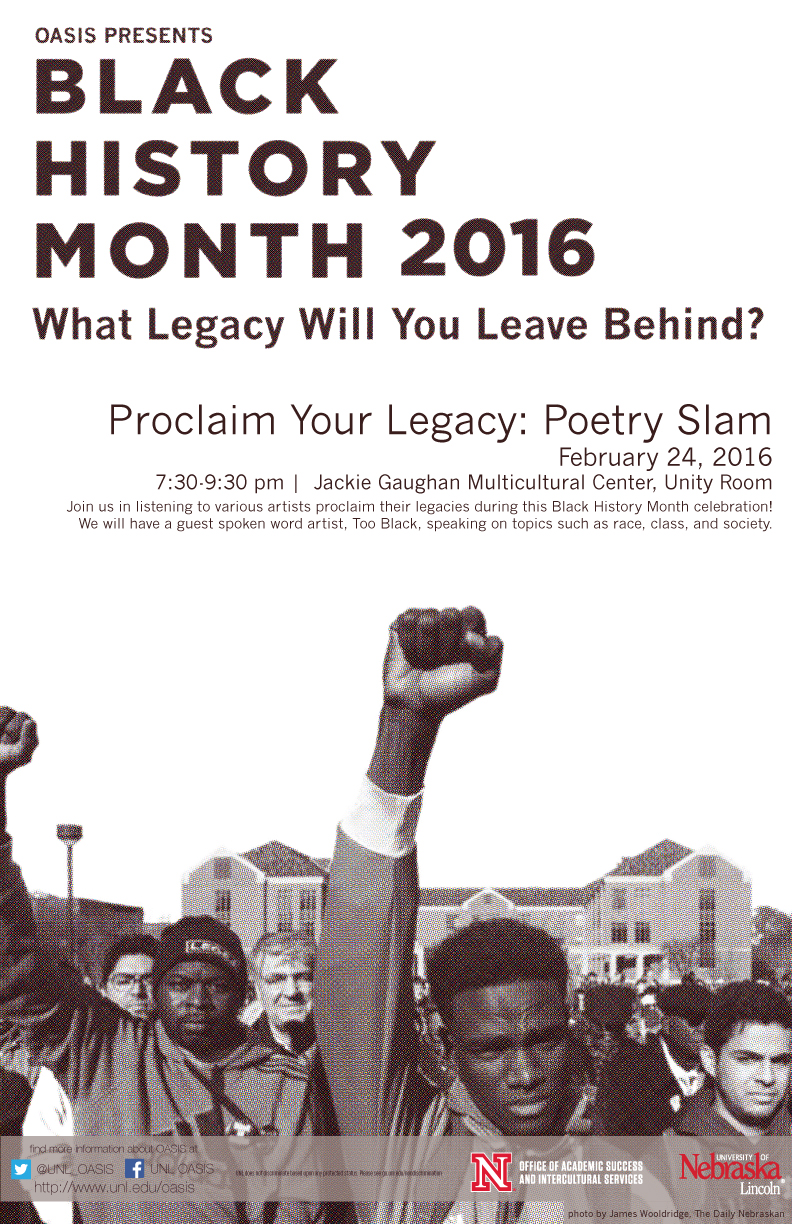 OASIS Black History Month Poetry Slam