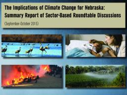 Cover Climate Roundtable Report