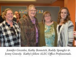 Kathy's retirement reception