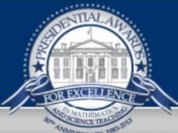 Nominate a K-6 teacher for a PAEMST award.