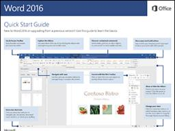 Tips, Tricks & Other Helpful Hints: Word 2016 Quick Start Guide