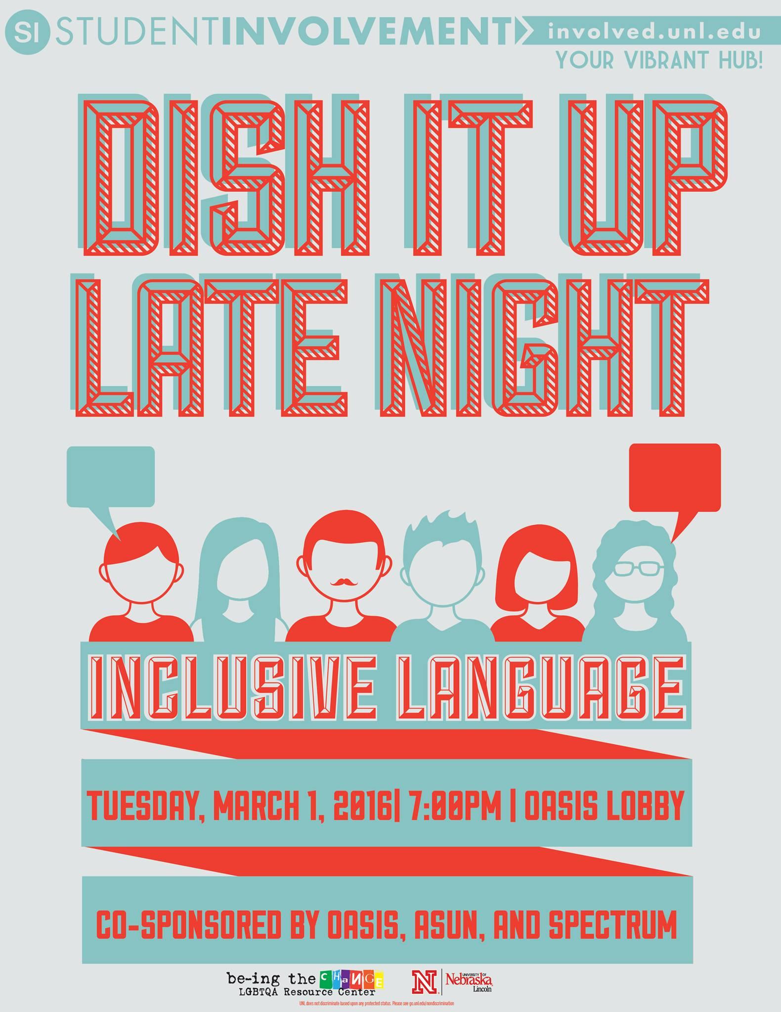 Dish It Up Late Night!