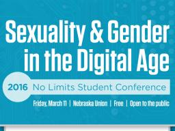 """No Limits Conference, """"Sexuality & Gender in the Digital Age"""""""