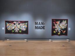 """Man-Made: Contemporary Male Quilters"" features work from eight quilt artists and is now showing at the International Quilt Study Center & Museum."