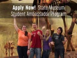 Morrill Hall is accepting applications through April 4 for the 2016-2017 Museum Student Ambassador Program.
