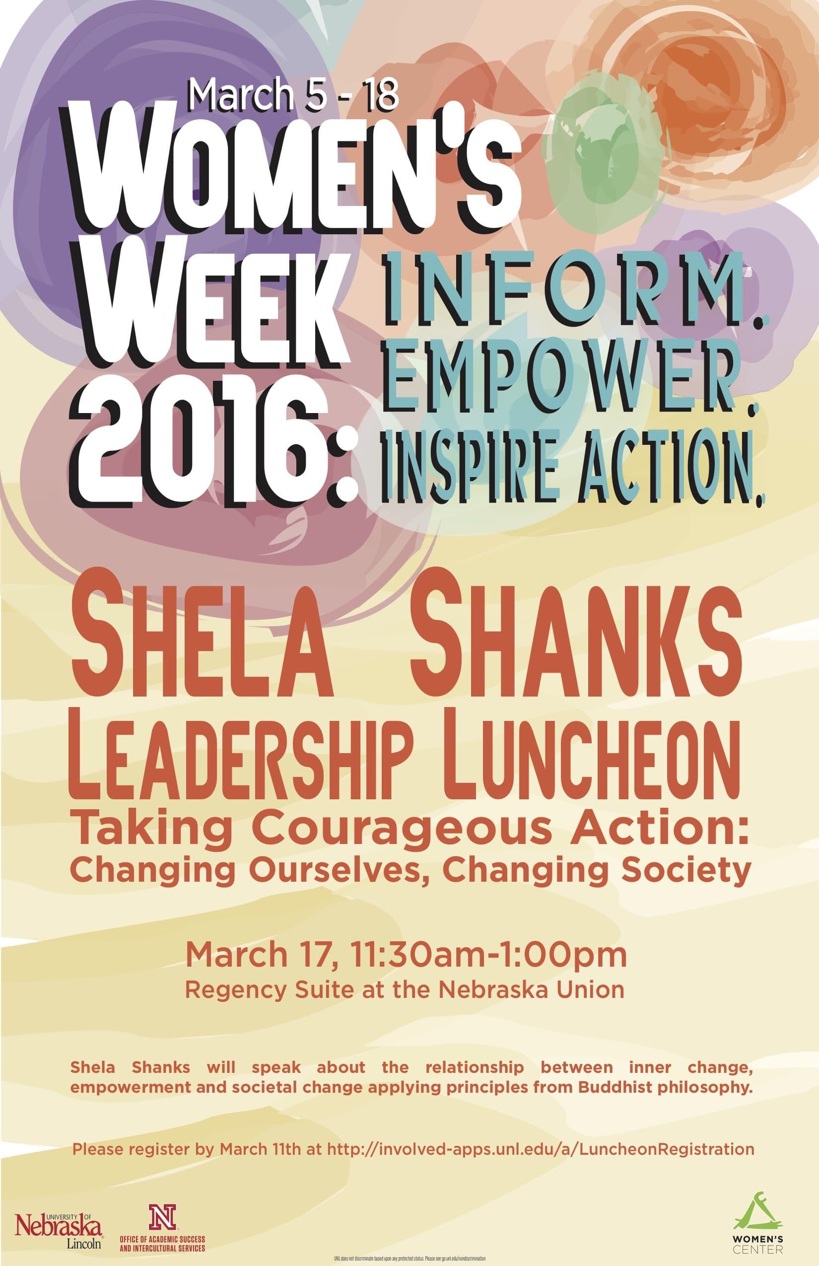 Shela Shanks Luncheon