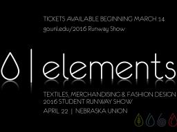 runway show - elements