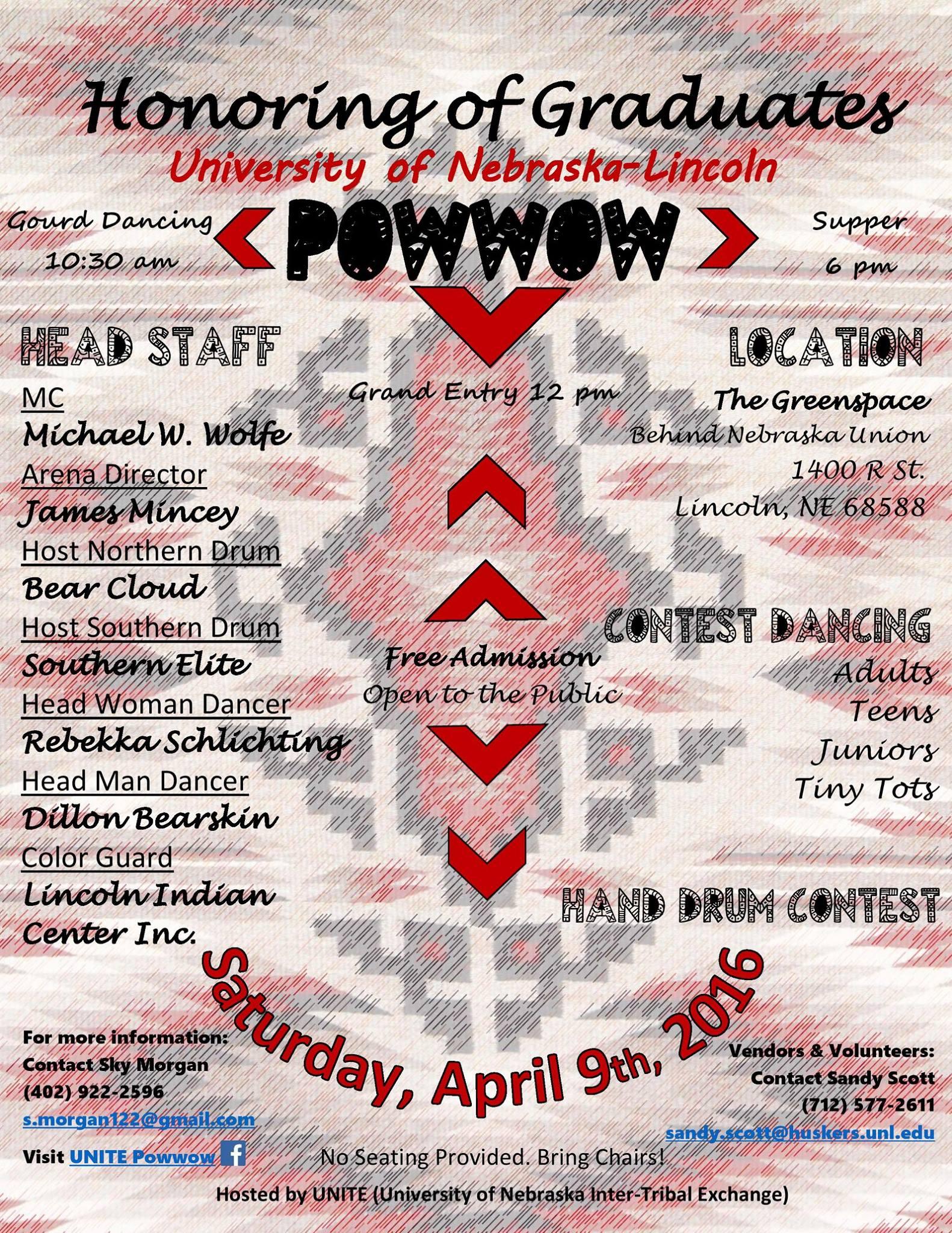 UNITE Powwow Flyer