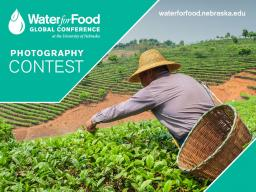 The 2016 Water for Food Global Conference photography contest ends April 11.