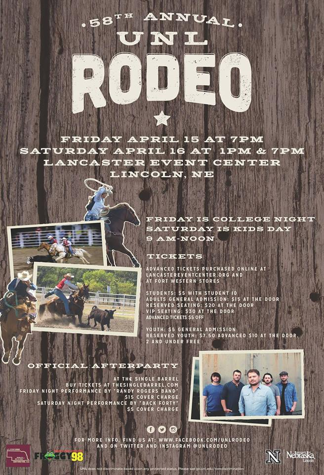 58th Annual UNL Rodeo