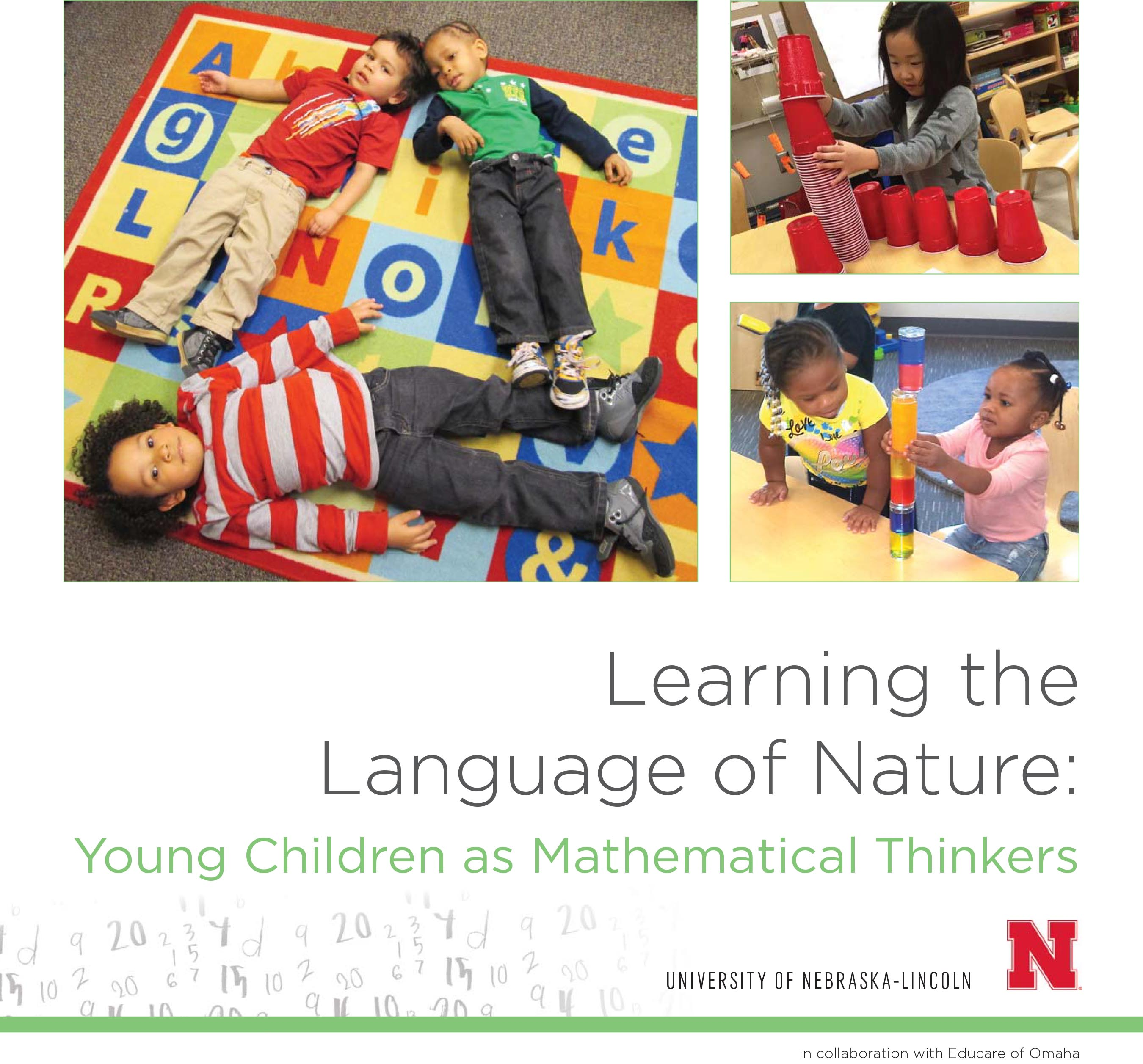 """Learning the Language of Nature: Young Children as Mathematical Thinkers"" copyright 2016"