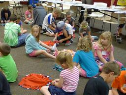 One of the 58 workshops at Clover College is the 4-day Clover Kids Day Camp for youth ages 6 & 7.