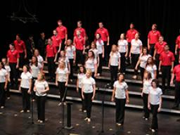 Big Red Singers and Vocal Jazz perform May 1 in Kimball Recital Hall.