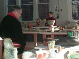 The Clay Club's Spring Pottery Sale and Raffle is April 29-30.