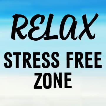 Enjoy stress-relieving activities!