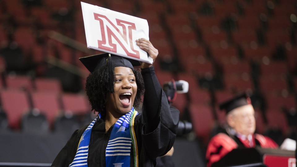 More than 2,800 degrees will be awarded during UNL's May commencement exercises May 6 and 7. (University Communications File Photo)