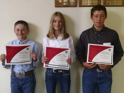Last year's Lancaster County Livestock Judging Contest intermediate contestants earned 4th high team at the  Premier Animal Science Events (PASE).