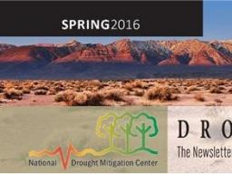 The spring edition of DroughtScape is released.