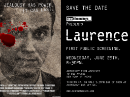 """""""Laurence,"""" a film created by Johnny Carson School of Theatre and Film faculty, will have its first public screening June 29 in New York City."""