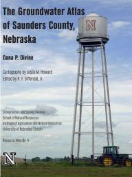 The Saunders County groundwater atlas by Dana Divine is available for sale at the Maps and More Store in Hardin Hall, 3310 Holdrege St.