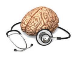 Brain with Stethoscope