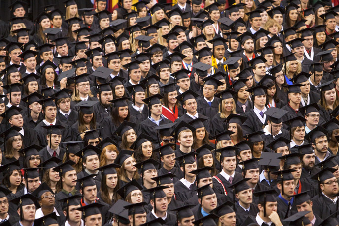 More than 1,400 students will receive degrees in commencement ceremonies Dec. 17-18