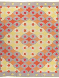"""Hollywood, made by an unknown maker circa 1934, appears  in the new International Quilt Study Center & Museum exhibition, """"Inside the Wrapper: The True Tales of the Mountain Mist Quilt Patterns,"""" which opens July 1."""