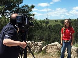 SNR Cabela's apprentice Chrissy Peters was featured on the June 16 episode of Backyard Farmer.