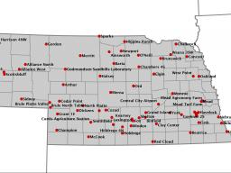 """The Nebraska State Climate Office is updating Mesonet weather stations across the state this summer to provide more """"real-time"""" reporting to the Web."""