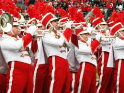 The Cornhusker Marching Band's annual exhibition performance is Aug. 19.
