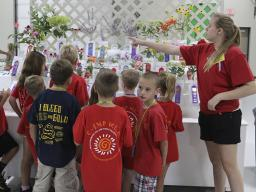 Fair Fun Day is for child care groups with youth kindergarten graduates through 4th grade.