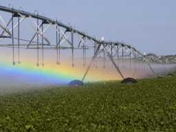 A new UNL undergraduate course will foster the teaching of science through big issues, such as water for agriculture. (Craig Chandler I UNL Communications)