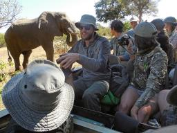 Fourteen UNL students recently returned from a study abroad trip with SNR's Director John Carroll to  Mashatu Game Reserve in Botswana.