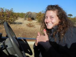 Morgan Kowalewski, an agriculture education major, was one of 14 UNL students to study abroad in Botwana, Africa.