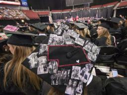 The summer all-university commencement ceremony will begin at 9:30 a.m. Aug. 13 in Pinnacle Bank Arena. |  <em>Craig Chandler, University Communications</em>