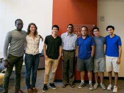 Summer Research Program students with their CSE professors and mentors.