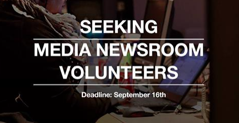 Seeking Media Newsroom Volunteers