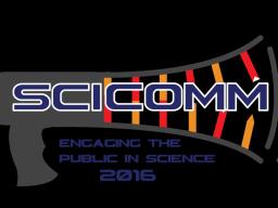 SciComm 2016 logo | Courtesy