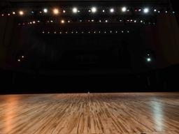 Kimball Recital Hall Floor. Photo by Justin Mohling
