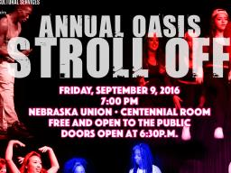 OASIS Stroll Off Poster