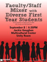 Faculty/Staff Mixer with Diverse First Year Students