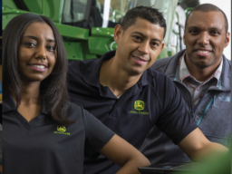 Recruiting representatives from John Deere will be here on Sept. 28.