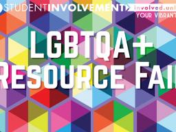 LGBTQA Resource Fair Poster