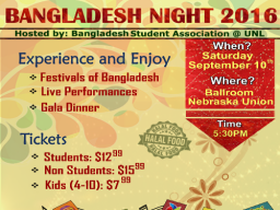 Bangladesh Night Flyer